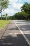 Lanse de vélo Images stock