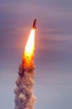 Lansering av Atlantis-STS-135 Royaltyfri Bild