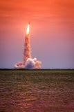 Lansering av Atlantis - STS-135 Royaltyfri Fotografi