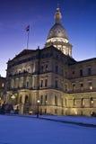 Lansing, Michigan - State Capitol Stock Images