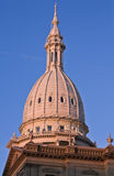 Lansing, Michigan - State Capitol at sunset Stock Photography