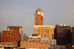 Lansing, Michigan at sunrise Royalty Free Stock Images
