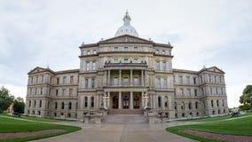 Lansing State Capitol Building en Michigan Foto de archivo libre de regalías