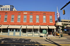 Lansky op Beale-Straat, Memphis royalty-vrije stock afbeelding