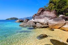 lanta Таиланд ko пляжа Стоковые Фотографии RF