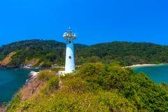 Lanta National Park Lighthouse, Krabi, Thailand. royalty free stock images
