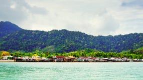 Lanta stad i Thailand Royaltyfria Foton