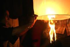 Lantaarn die voor martelaren vliegen royalty-vrije stock afbeelding