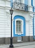 Lantaarn en balkon Smolny van een kathedraal           Royalty-vrije Stock Foto