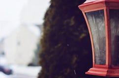 Lantaarn in het Midden Royalty-vrije Stock Foto's