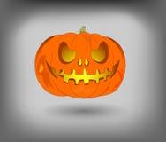 Lantaarn Jack, een pompoen voor Halloween, gebruik als ontwerpelement Royalty-vrije Stock Foto