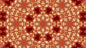 lantaarn met rode kaars die binnen branden vector illustratie