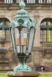 Lantaarn op Dresden Art Gallery Royalty-vrije Stock Fotografie