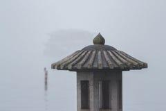 Lantaarn op het meer Royalty-vrije Stock Afbeelding