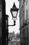 Lantaarn, Oud Edinburgh. Stock Foto's