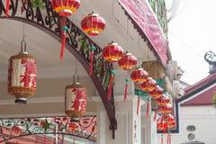 Lantaarn in Penang Royalty-vrije Stock Fotografie