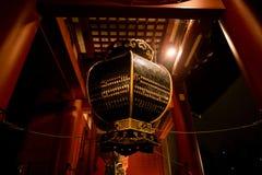 Lantaarn van Sensoji-Tempel stock fotografie