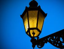 Lantaarn voor een stad royalty-vrije stock afbeelding