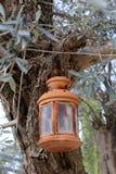 Lantaarn voor verlichting stock afbeelding