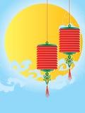 Lantaarndecoratie Stock Foto's