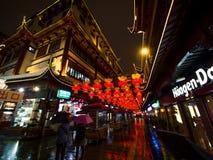 Lantaarnfestival in het Chinese Nieuwjaar. 16 februari, 2014 Stock Foto's