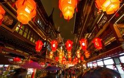 Lantaarnfestival in het Chinese Nieuwjaar. 16 februari, 2014 Stock Afbeeldingen