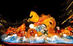 Lantaarnfestival in het Chinese Nieuwjaar. 16 februari, 2014 Stock Afbeelding