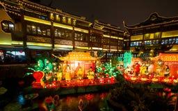Lantaarnfestival in het Chinese Nieuwjaar. 16 februari, 2014 Stock Fotografie