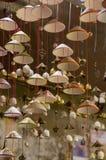 Lantaarns, beeldende kunsten en ambacht in de oude stad van Hoi An, Vietnam Dit gebied is het cultureel erfgoed van de wereld, hi royalty-vrije stock foto