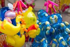 Lantaarns bij Medio de Herfstfestival in Tuin door de Baai, Singapore stock foto's