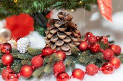 lantaarns decoratie boog vakantie Kerstmis stock foto's