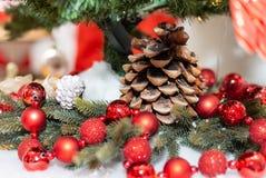 lantaarns decoratie vakantie boog Kerstmis royalty-vrije stock afbeeldingen