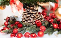 lantaarns decoratie vakantie Kerstmis boog royalty-vrije stock foto's