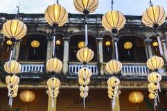 Lantaarns in Oude Straat Hoi An, Vietnam royalty-vrije stock fotografie