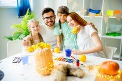 Lantaarns van de familie de snijdende hefboom o Stock Foto's