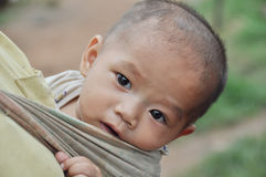 LANTAEN dziecko. Zdjęcie Stock