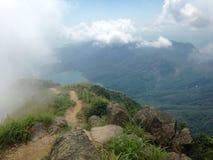 Lantau峰顶 图库摄影
