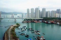 Lantau bridge Royalty Free Stock Images