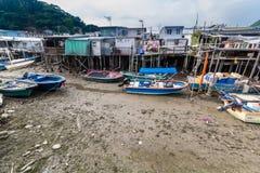 Lantau-Insel Hong Kong Fischerdorf Tai O Lizenzfreie Stockfotografie