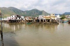 Lantau-Insel Hong Kong Fischerdorf Tai O Lizenzfreie Stockbilder