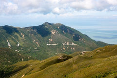 Lantau kullar, Lantau ö Fotografering för Bildbyråer