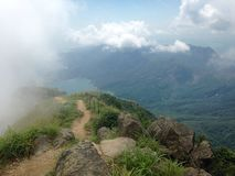 Lantau szczyt Fotografia Stock