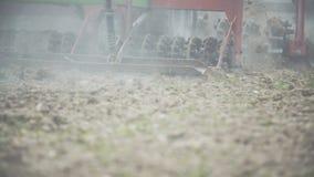 LANTBRUK jordbruk - bondesåddfält stock video