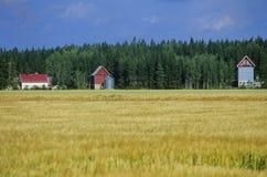 lantbrukarhem 1 avslutar nr.en Arkivbild