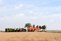 lantbrukarhem Fotografering för Bildbyråer