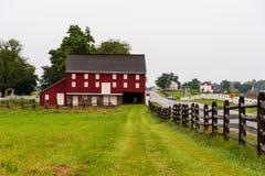 Lantbrukarhem och ladugårdar i Gettysburg arkivfoto