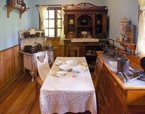 Lantbrukarhem på det tyska museet på Frutillar, Chile Royaltyfri Bild
