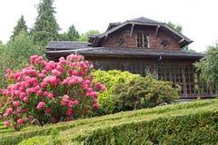 Lantbrukarhem på det tyska museet på Frutillar, Chile Royaltyfri Fotografi