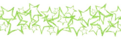 Lantejoulas dispersadas na forma de uma estrela Beira sem emenda com g Foto de Stock