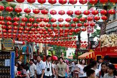 Lantens del chino tradicional Fotografía de archivo